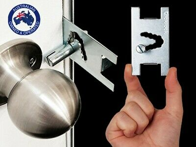 Qicklock-Portable Door Lock- Temporary Security Lock -Travel Lock