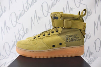 3f91be70cfea3 Nike Sf Af1 Air Force 1 One Mid Sz 15 Field Boot Desert Moss Gum 917753