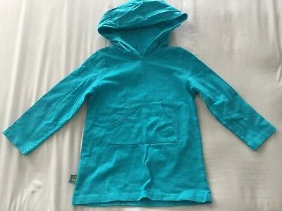 One Step Ahead Sun Smarties UPF 50+ UV Protection Hoodie Cover Up Size 3T