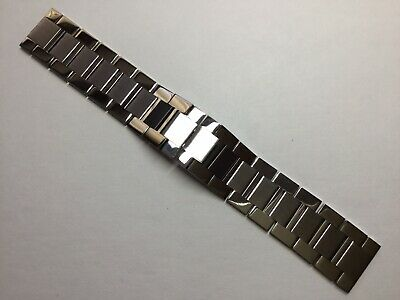 New 23Mm Stainless Steel Watch Bracelet Band Strap For Cartier Tank Solo Xl