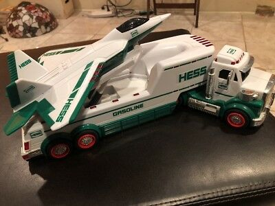 Vintage 2010 Hess Toy Truck with Fighter Jet