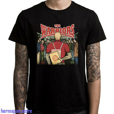 The Warriors Movie American Action Logo Men/'s Black T-Shirt Size S to 3XL