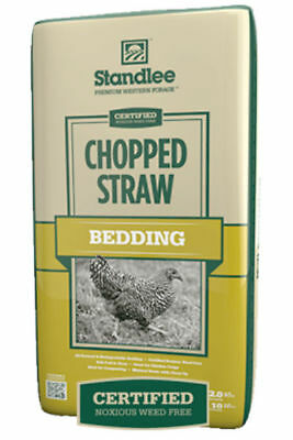 Standlee 1600-70101-0-0 Premium Western Forage Certified Chopped Straw, 25 Lb