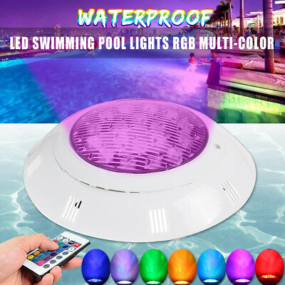 18LED Underwater Swimming Pool 7 Colors RGB Multi-color Fountains Lamp Light