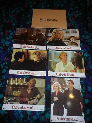 Just Like Heaven - 6 Original French Lobby Cards - Reese Witherspoon - 2005