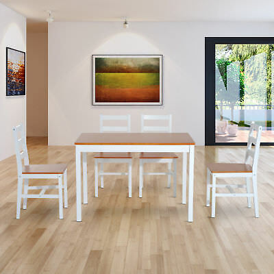 DINETTE SOLID WOOD Dining Table Breakfast Kitchen Dining Room Home - Solid wood dinette table