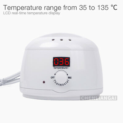 Portable 100W 500cc Wax Melting Pot Depilatory Wax Heater Warmer Machine UK Plug