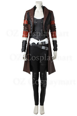 Guardians of the Galaxy Vol. 2 Gamora Outfit Halloween Cosplay Costume