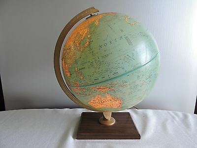 "Replogle 12"" World Premier Series Light Up Globe  Leroy Tolman - USSR Zaire"
