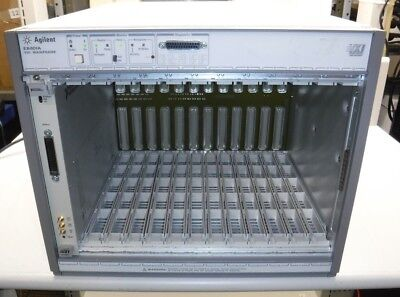 Agilent E8401A VXI Mainframe With National Instruments VXI-MXI-2 Card With Cable