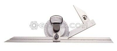 0-360° Precision Universal Bevel Magnifier Adjustment Protractor Fervi G005