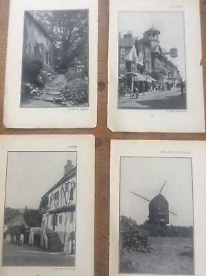 Limpsfield Guildford Oxted Couldon c1920 London South Thames Photograph Prints