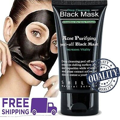 Purifying Black Peel off Charcoal Mask Facial Deep Cleansing Blackhead Remover