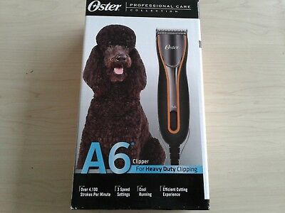 *NEW* Oster A6 Cool Comfort Heavy Duty Clipper with Detachable Blade #10