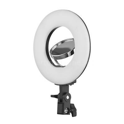 24W 8 Inch 5500K LED Ring Lighting Live Video Film Continuous Light+Mirror I2M3