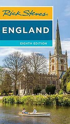 Rick Steves England (eighth Edition) by Rick Steves Paperback Book Free Shipping