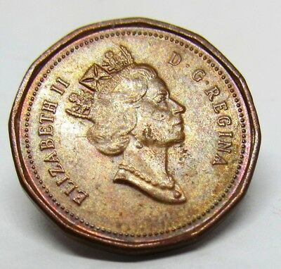 CANADA 1867 - 1992 CANADIAN 1 One Cent COIN.  Circulated condition