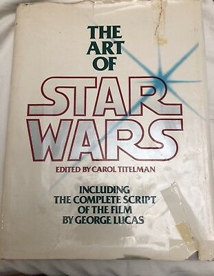 THE ART OF STAR WARS IV 1st Edition Nov. 1979 0-345-28273-6 George Lucas VINTAGE