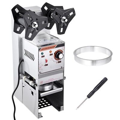 Electric Semi-automatic Bubble Tea Cup Sealer Sealing Machine 400-600 Cups/hr