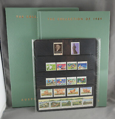 Brand New Collection Of 1989 Australian Stamps Deluxe Edition 50 Mint Stamps MNH
