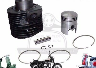 New Lambretta Gp200 Scooters Cylinder Barrel With Piston Kit