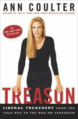 Treason by Coulter, Ann Hardback Book The Cheap Fast Free Post
