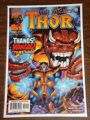 Thor #21 Vol2 The Mighty Marvel Comics March 2000 Thanos