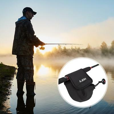 Spinning Reel Pouch Baitcasting Fishing Reel Bag Protective Case Cover Holders