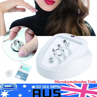 Diamond Dermabrasion Microdermabrasion System Simple Operate Machine AU Stock