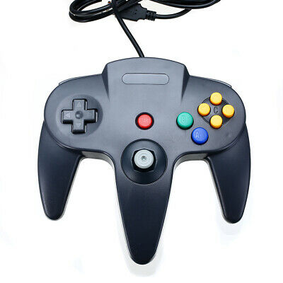 For Nintendo 64 N64 To PC / Mac USB Classic Controller Gamepad - Black NEWS