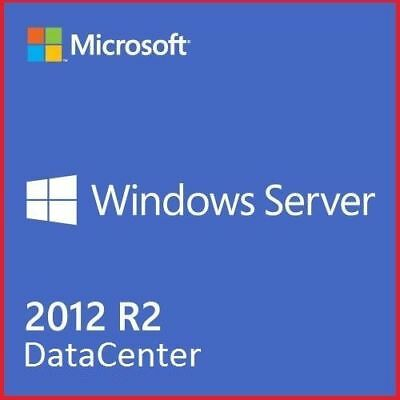 Windows Server 2012 R2 Datacenter REMOTE DESKTOP SERVICES 50 User+50 Device Cals