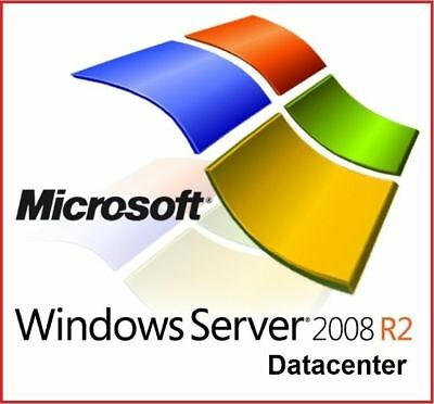 Windows Server 2008 R2 DATACENTER + DOWNLOAD ISO + CHEAP ON EBAY
