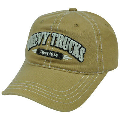 Chevy Chevrolet Trucks Cap Kappe One Size Slouch Garmet Wash used Style Cap
