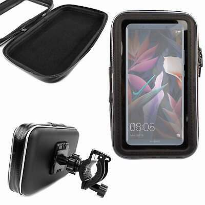 Ultimateaddons Motorcycle Helix Strap Handlebar Bike Mount and Universal One Holder for Samsung Galaxy A7 and A9 2018 2018