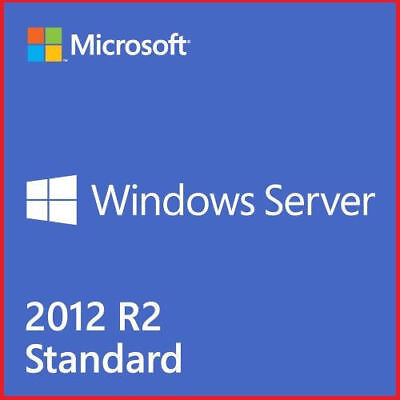Windows Server 2012 R2 STANDARD License + FULL RETAIL PACK+ DOWNLOAD ISO
