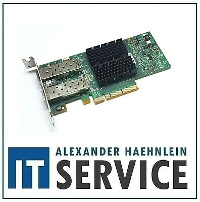 LP Mellanox ConnectX-3 NIC 10 Gigabit 10GBe SFP+ Dual Port CX312A MCX312A-XCBT