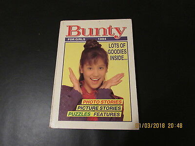 Bunty   For  Girls   Annual  1994  Good  For  Age