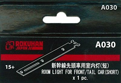 Rokuhan Z Scale A030 Interior Lighting Kit Shinkansen Front/Tail Car Short 1pc
