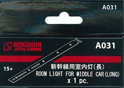 Rokuhan Z Scale A031 Interior Lighting Kit for Shinkansen Middle Car - Long 1pc.
