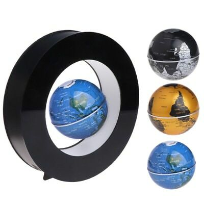 "3"" Magnetic Floating Rotating Globe Levitation World Map Home Desk Decoration 1X"