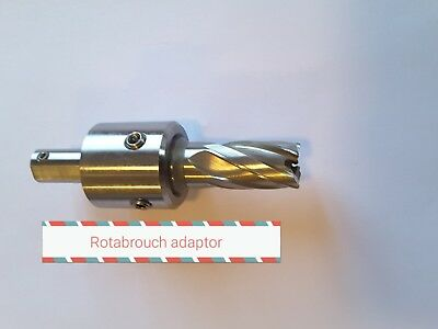 Annular cutter arbour rotabroach Weldon drill press Milwaukee drill welding