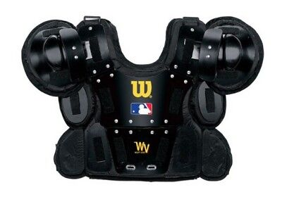 Wilson Adult Pro Gold Umpire Chest Protector Baseball Protective Gear WTA3210BLA