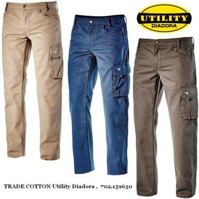 Pantalone all season TRADE COTTON Utility Diadora ,  702.159630