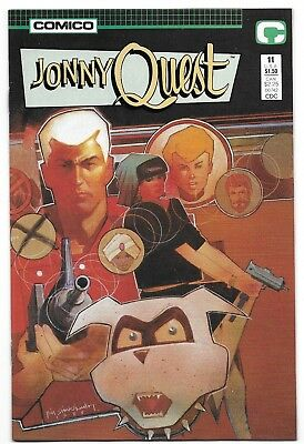 1987 Johnny Quest Comic #11 from Comico Comics