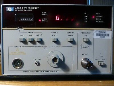 HP/Agilent 436A Power Meter with Option 022 Remote Interface Bus