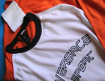 SWEATER cotton vintage 90's VERSACE SPORT  TG.S   made in Italy