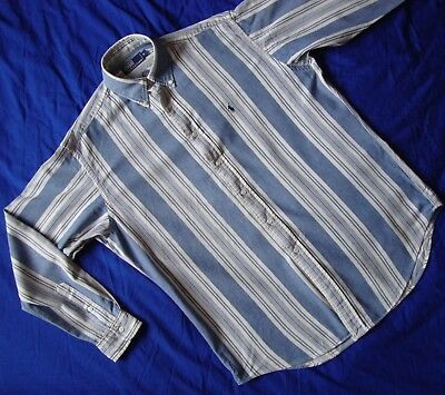 SHIRT camicia vintage 90's POLO by  RALPH LAUREN tg.M ampia L/XL circa