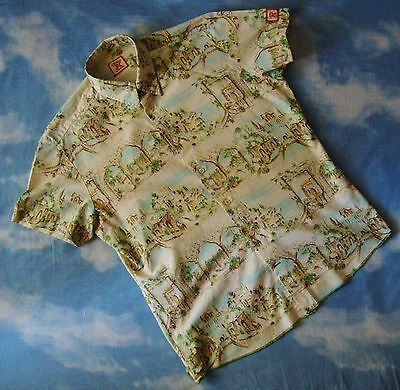 SHIRT camicia  vintage  80's ENERGIE  tg.XL- L/XL circa   Made in  Italy RARE