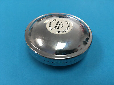 Ford Tractor Fuel Tank CHROME Gas Cap C5NN9030D 2000 3000 4000 5000 6000 7000