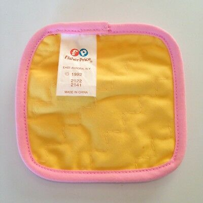 Vintage 1992 Fisher Price Fun with Food: HOT PAD POT HOLDER * Combine Shipping!